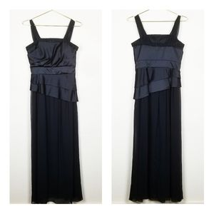 Max and Cleo Black Formal Gown with Beading